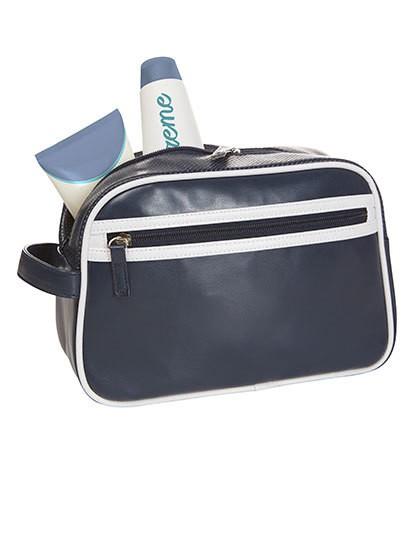 Wash Bag Retro - Freizeittaschen - Sport- & Reisetaschen - Halfar Anthracite