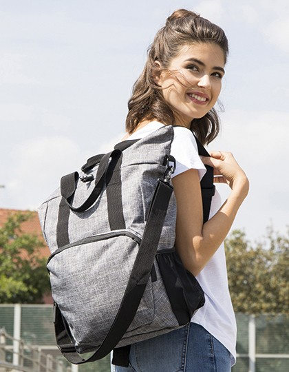 Daypack - Orlando - Bags2GO Grey Melange