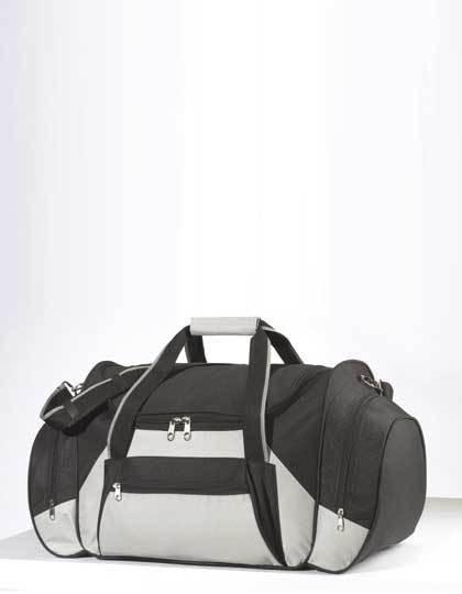 Reisetasche Iceland - Freizeittaschen - Sport- & Reisetaschen - Printwear Black - Light Grey