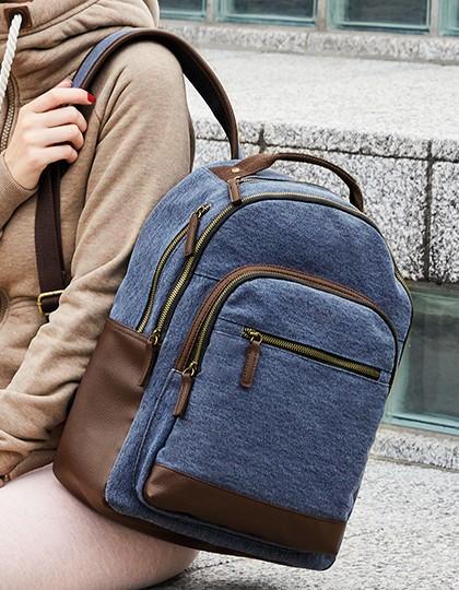 Daypack - Edinburgh - Rucksäcke - Freizeit-Rucksäcke - Bags2GO Blue Melange