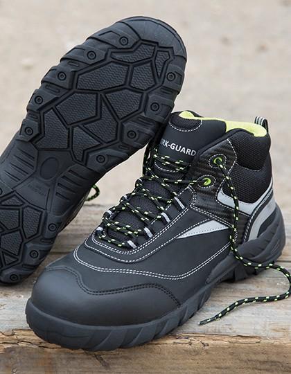 Blackwatch Safety Boot - Workwear - Schuhe - WORK-GUARD Black - Silver