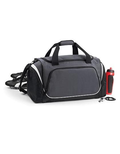 Pro Team Holdall - Freizeittaschen - Sport- & Reisetaschen - Quadra Black - Light Grey