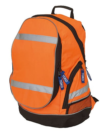 High Visibility London Rucksack - Rucksäcke - Laptop-Rucksäcke - YOKO Hi-Vis Orange