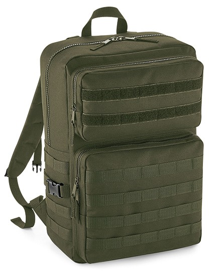 MOLLE Tactical Backpack - BagBase Black