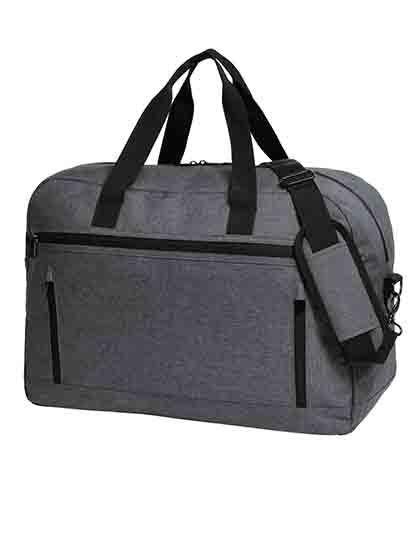 Travel Bag Fashion - Freizeittaschen - Sport- & Reisetaschen - Halfar Blue-Grey Melange