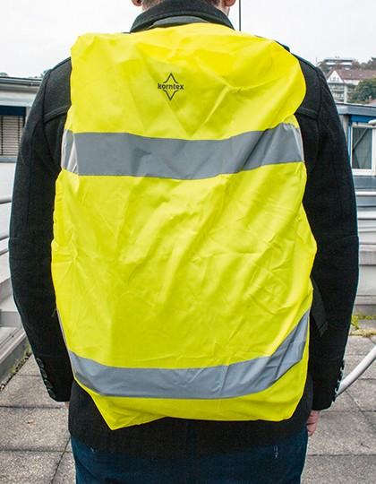 Hi-Viz Cover for backpacks - Sicherheitsbekleidung - Sicherheitsjacken & -Hosen - Korntex Signal Yellow