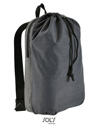 Dual Material Backpack Uptown - Rucksäcke - Freizeit-Rucksäcke - SOL´S Bags Charcoal Melange