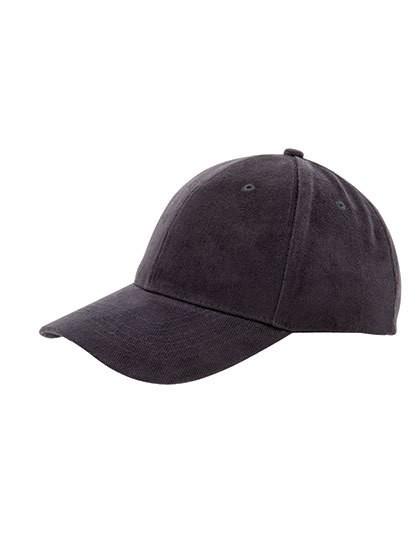 Heavy Brushed Cap - Caps - 6-Panel-Caps - Printwear Black