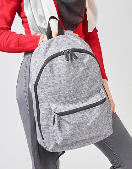 Daypack - Manhattan - Rucksäcke - Freizeit-Rucksäcke - Bags2GO Grey Melange