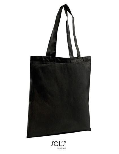 Organic Shopping Bag Zen - Baumwoll- & PP-Taschen - Baumwolltaschen - SOL´S Bags Black