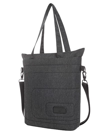 Notebook Shopper Frame - Halfar Black - Grey-Sprinkle
