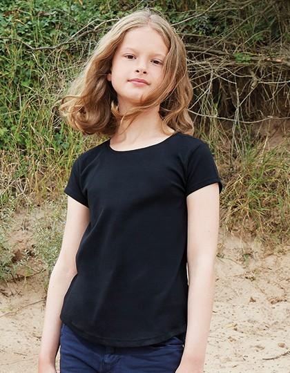 Girls T - Kinderbekleidung - Kinder T-Shirts - Mantis Kids Fuchsia