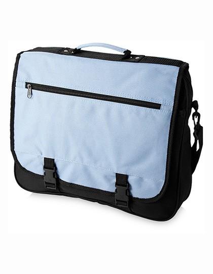 Anchorage Conference Bag - Businesstaschen - Laptop-Taschen - Printwear Aqua Blue - Black