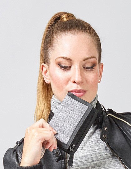 Wallet - Las Vegas - Freizeittaschen - Accessoires - Bags2GO Grey Melange