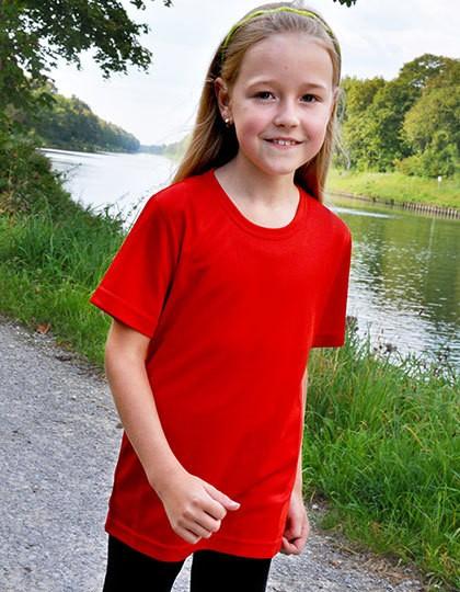 Funktions-Shirt Kinder - Sports & Activity - Basic Sport Shirts - Oltees Black