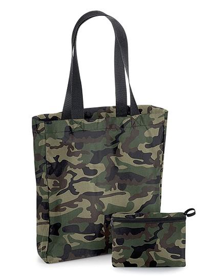 Packaway Bag - BagBase Black - Black