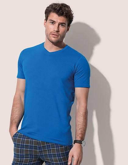 Clive V-Neck - Fashion T-Shirts - V-Neck - Stedman® Black Opal