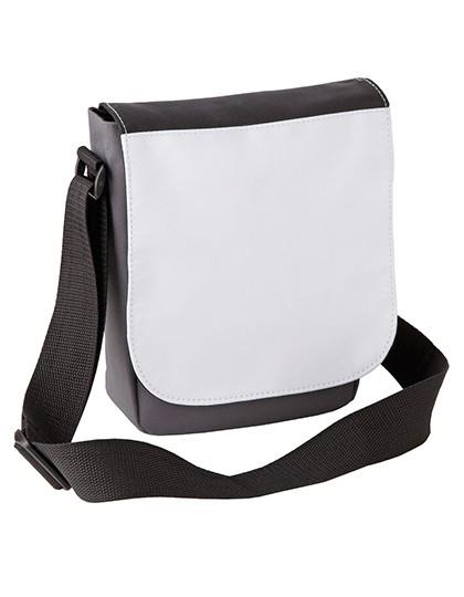 Sublimation Mini Reporter Bag - Sublimationstextilien - Sublimationstaschen - Xpres Black - Black