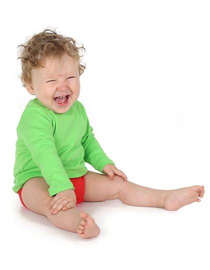 Bio Long Sleeve Baby T-Shirt - Kinderbekleidung - Baby Shirts & Hosen - Link Kids Wear Babypink