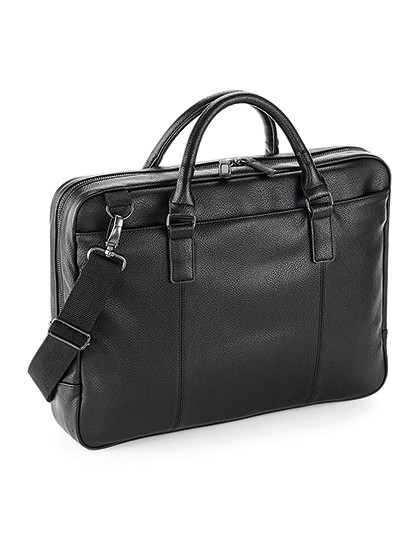 NuHide® Slimline Laptop Brief - Quadra Black