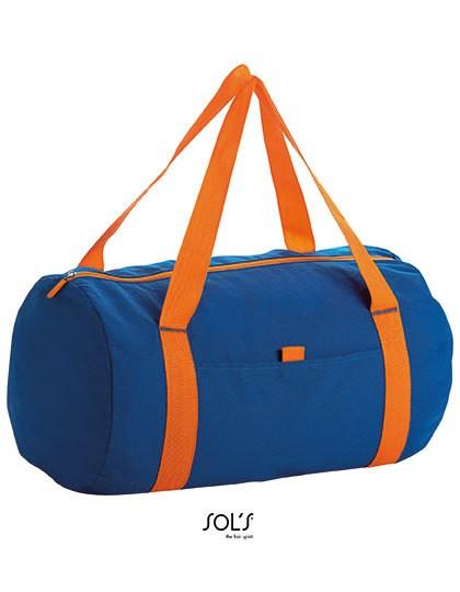 Barrel Bag Tribeca - Freizeittaschen - Sport- & Reisetaschen - SOL´S Bags Black - Neon Lime
