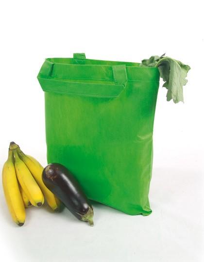 Vliestasche (PP-Tasche) kurze Henkel - Baumwoll- & PP-Taschen - PP-Taschen - Printwear Black