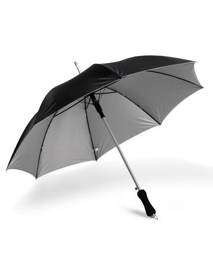 Aluminium Stockschirm Automatik - Schirme - Stockschirme - Printwear Black - Grey