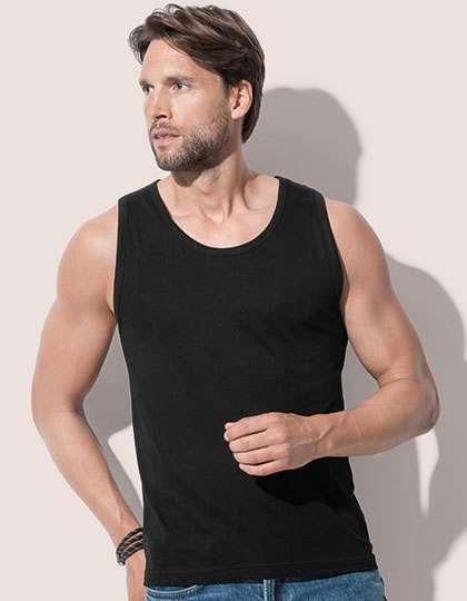 Classic-T Tank Top - Basic T-Shirts - Ärmellos - Stedman® Black Opal