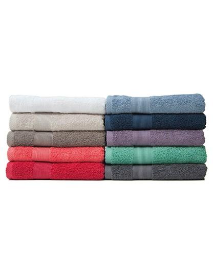 InFlame Hand Towel - Frottierwaren - Handtücher - Bear Dream Antique Grey (Charcoal Brown)