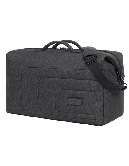 Sport-Travel Bag Frame - Halfar Black - Grey-Sprinkle