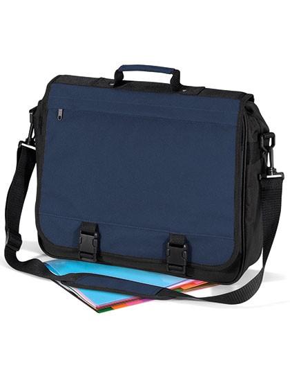 Portfolio Briefcase - Businesstaschen - Umhängetaschen - BagBase Black