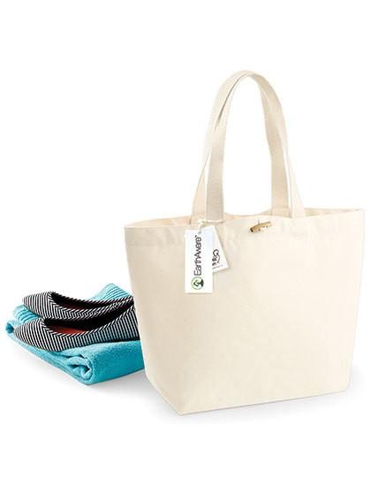 EarthAware® Organic Marina Bag - Baumwoll- & PP-Taschen - Baumwolltaschen - Westford Mill Black