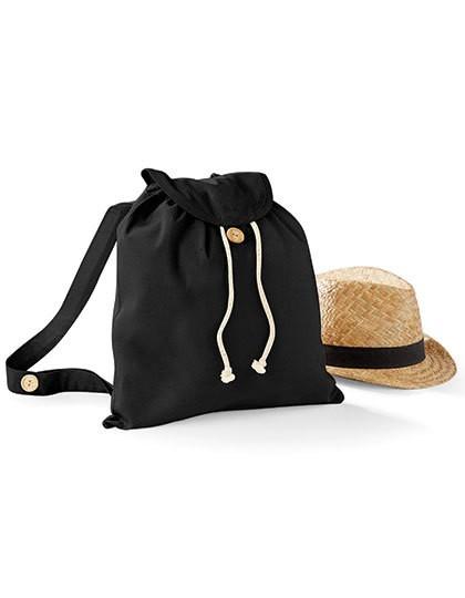 Organic Festival Backpack - Baumwoll- & PP-Taschen - Baumwolltaschen - Westford Mill Black