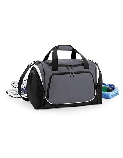 Pro Team Locker Bag - Freizeittaschen - Sport- & Reisetaschen - Quadra Black - Light Grey