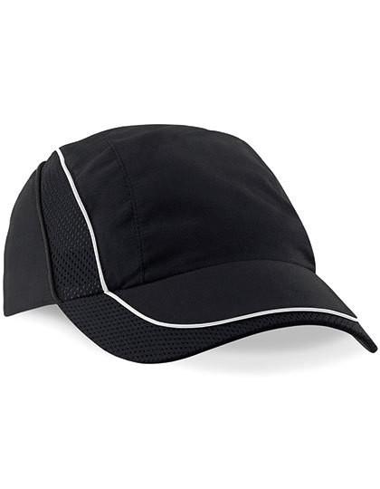Coolmax® Flow Mesh Cap - Caps - Netz- & Sport-Caps - Beechfield Black