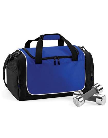 Teamwear Locker Bag - Freizeittaschen - Sport- & Reisetaschen - Quadra Black - Light Grey