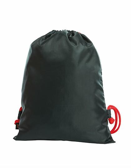 Drawstring Bag Flash - Rucksäcke - Gymsacs - Turnbeutel - Halfar Black - Green