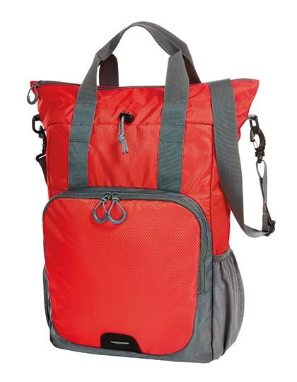 Multi Bag Step - Rucksäcke - Freizeit-Rucksäcke - Halfar Black