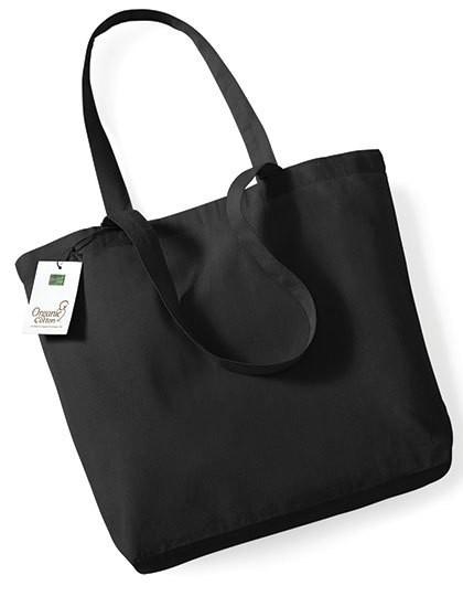 Organic Cotton Shopper - Baumwoll- & PP-Taschen - Baumwolltaschen - Westford Mill Black