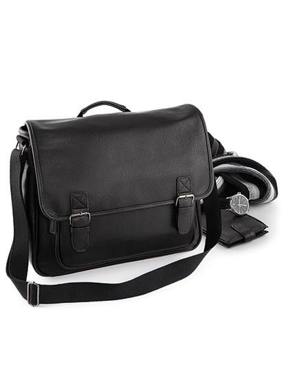 NuHide® Messenger - Freizeittaschen - Freizeit-Umhängetaschen - Quadra Black