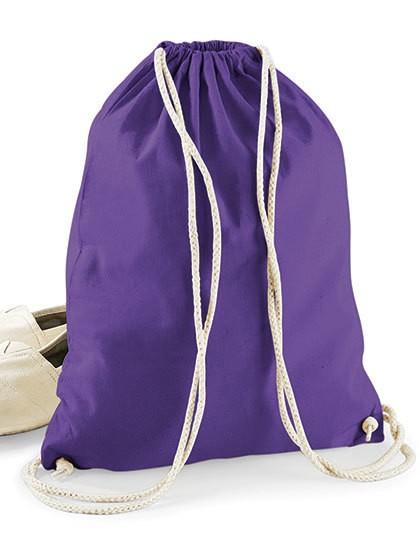 Cotton Gymsac - Baumwoll- & PP-Taschen - Baumwolltaschen - Westford Mill Black