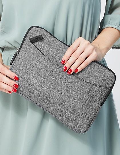 Tablet Bag - Houston - Businesstaschen - Tablet-Taschen - Bags2GO Grey Melange