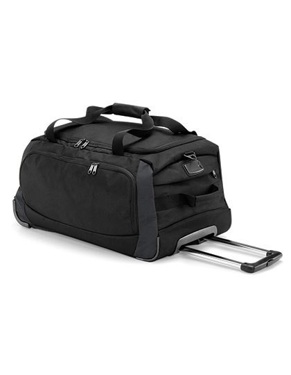 Tungsten™ Wheelie Travel Bag - Freizeittaschen - Sport- & Reisetaschen - Quadra Black - Dark Graphite