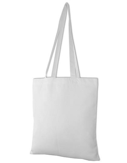 Long Handle Carrier Bag - Link Sublime Textiles White
