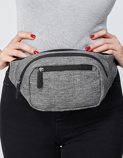 Hip Bag - Detroit - Freizeittaschen - Hüfttaschen - Bags2GO Grey Melange