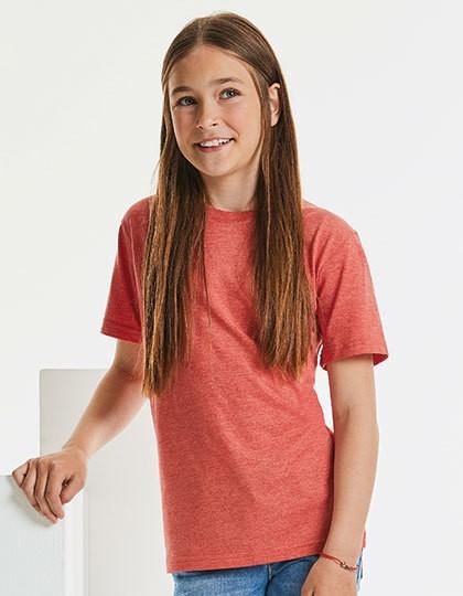Children´s HD T - Kinderbekleidung - Kinder T-Shirts - Russell Blue Marl