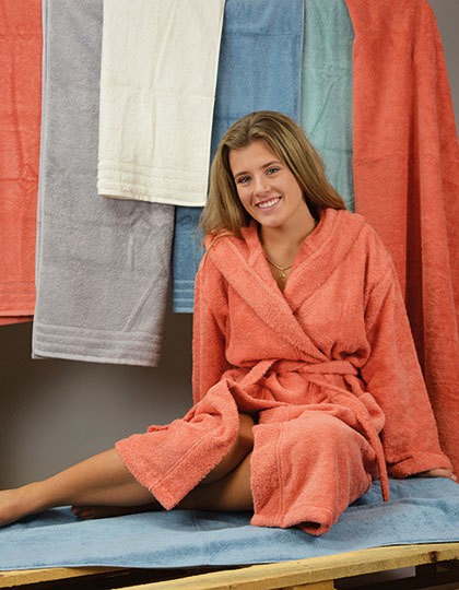 Robezz® Organic Bathrobe - A&R White