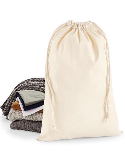 Premium Cotton Stuff Bag - Baumwoll- & PP-Taschen - Baumwolltaschen - Westford Mill Black