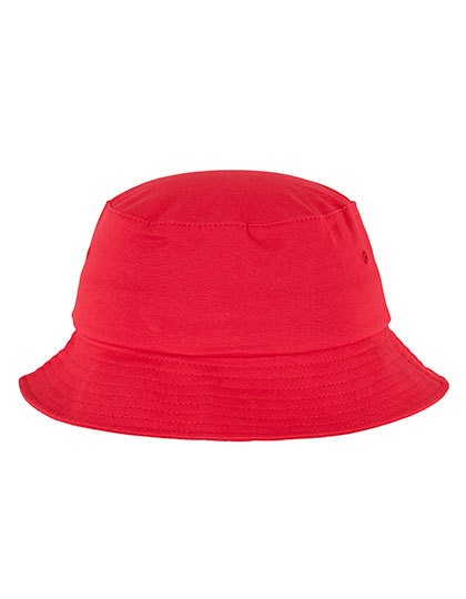 Flexfit Cotton Twill Bucket Hat - Caps - Hüte - FLEXFIT Black