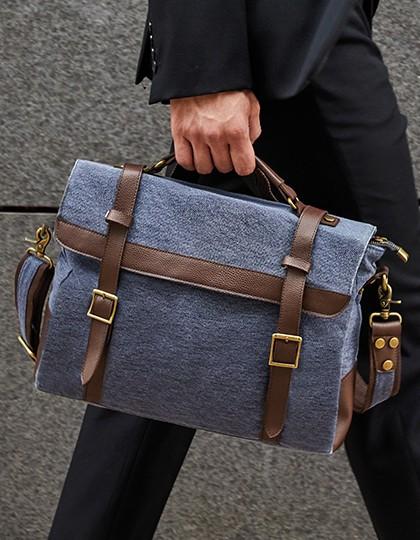 Messenger Bag - Cambridge - Freizeittaschen - Freizeit-Umhängetaschen - Bags2GO Blue Melange